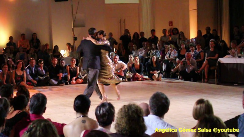 Joe Corbata y Lucila Cionci workshop milonga Sevilla 2018 2
