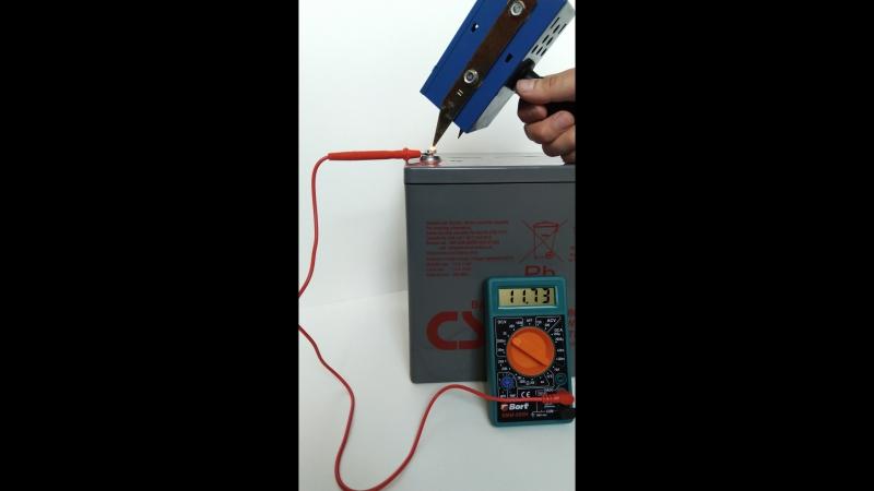 CSB HRL 12280W FR (под нагрузкой)