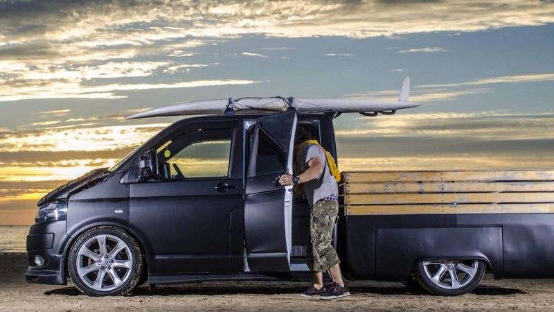 Reza's T5 Pick Up from Van x VW Bus magazine photos смотреть онлайн без регистрации