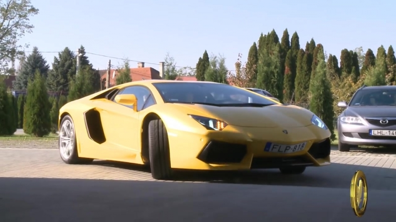 Lamborghini Aventador - ahogy mg sose lttad Berkics Miki bemutatja lomautjt