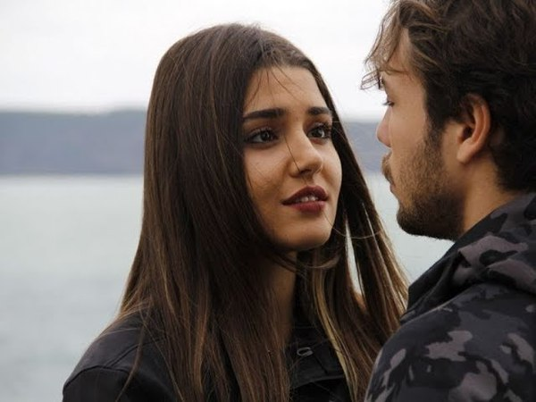 Али и Селин (Первый поцелуй, лучшие моменты, отрывки - Дочери Гюнеш)