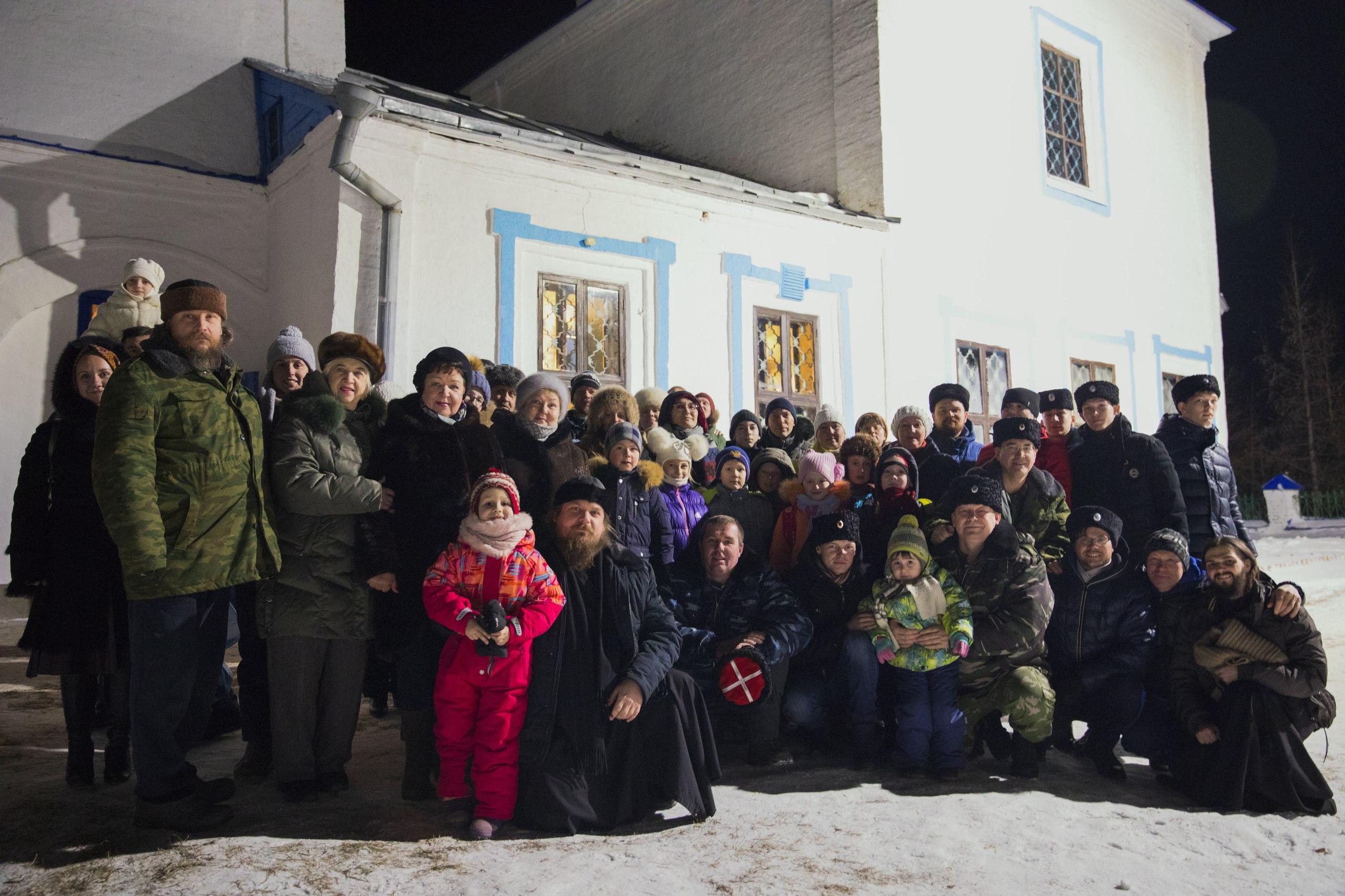 Паломничество в село Аркатово