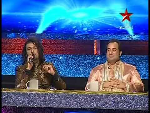 Jaane Kahan Gaye Wo Din | Sonu Nigam | Neil Nitin Mukesh | Sing Together | At Chote Ustad Episode