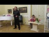 Встреча с артистами Владимиром Дяденистовым и Ксенией Зуден. 03.04.2018 г. ф-м 12