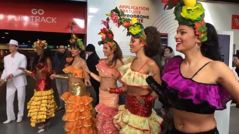 День Бразилии на ипподроме Paris-Vincennes 18 февраля 2018
