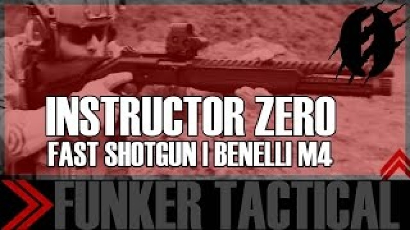 BENELLI M4 Equipped with ATI Raven Stock | Instructor Zero
