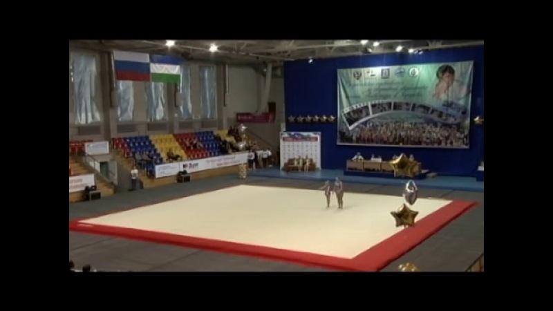 Всероссийские соревнования по спортивной акробатике памяти Александра Дергунова