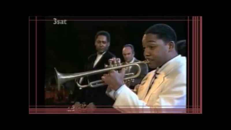 Trumpet duel ´90: Wynton Marsalis, Arturo Sandoval, James Morrison Jon Faddis.