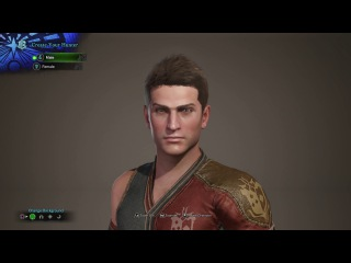 Monster Hunter World Character Creation - Male (PS4 Pro)