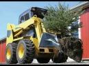 Лопата-ковш для выкопки кустарников на Bobcat