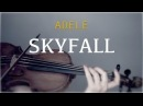 Adele - Skyfall for violin and piano COVER