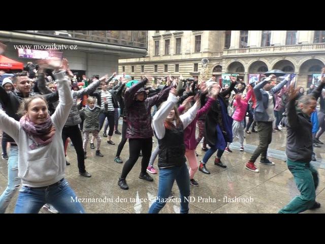 Flashmob Mezinárodního dne tance Praha 2017