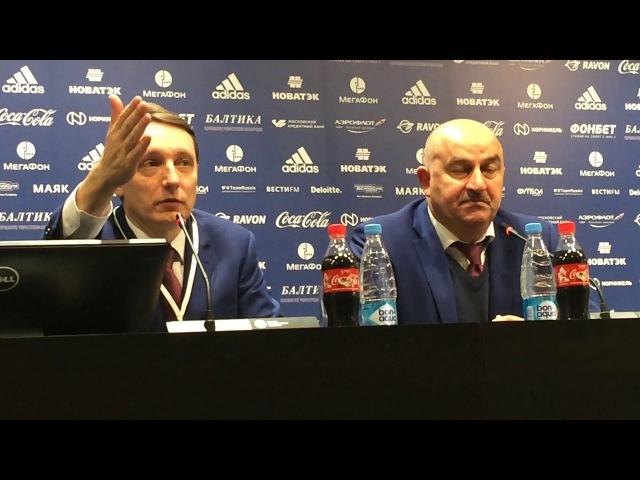 Станислав Черчесов: нам нужно научиться выигрывать и такие матчи
