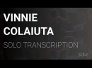 Vinnie Colaiuta | Transcription | Actual Proof Solo