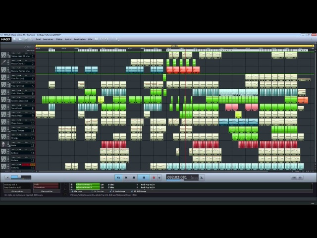 Cottage Party! Vers. 2 - Magix Music Maker 2014 Premium (Fast Dubstep/House/Trance)