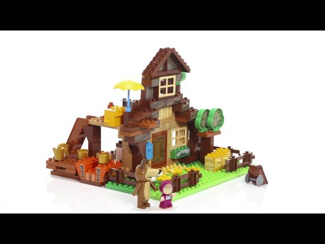 BIG 800057098 Конструктор Маша и Медведь - Дом Мишки. Misha's house