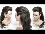 Easy Everyday Hairstyle With Braids For Long Hair