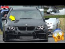 900HP BMW 335i Touring IS BACK with HOOD EXHAUST CRAZY BURNOUTS