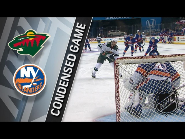 02/19/18 Condensed Game: Wild @ Islanders