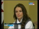 В саранской школе Мисс Вселенной 2002 Оксаны Федоровой научат петь, танцевать, пос...