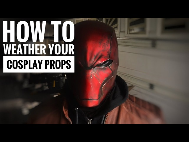 How to Apply Weathering to Resin Props and Cosplay Armor