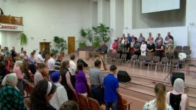 2017 08 20 Вечернее воскресное служение - LIVE