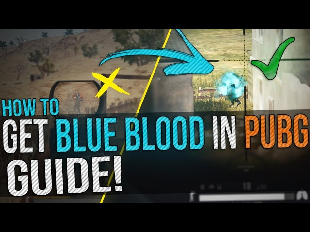 Battlegrounds: How To Change Blood Colour to Blue! - Better visibility Blue Blood