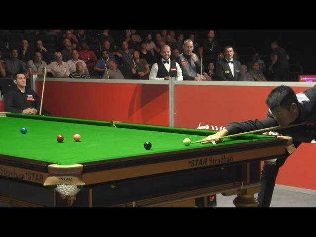 Liang Wenbo 梁文博 147 MAXIMUM Break! English Open Snooker 2017