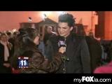 2009-12-31 - MyFoxLA - Adam Lambert Interviewed at 4th Annual Gridlock New Year's Eve Bash