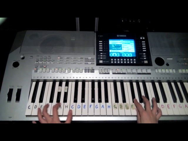 STUMBLIN'IN [Chris Norman Suzi Quatro](Tá pusa je tvá...CZ)Cover,(Klávesy)(Piano)Ako na to bez not