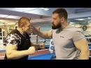 Вырубил с пощечины Сарычев против Новоселова