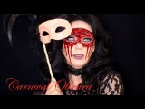 Masquerade Flesh Mask - Carnival Obscura  (Halloween Make-up Tutorial)
