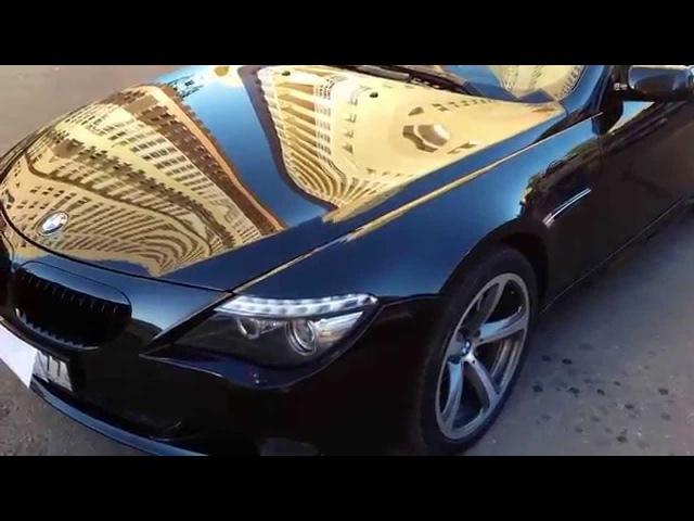 Сияющий Блеск BMW 650i Покрытый Жидким Стеклом AQuly