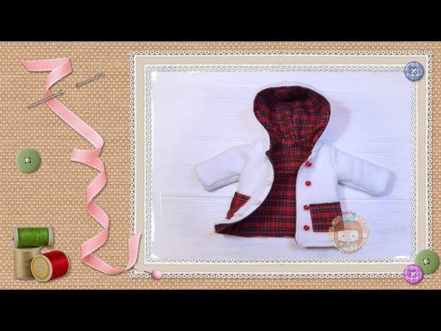 Tutorial: Chaquetón para muñecas / Tutorial: Dolls shooting jacket