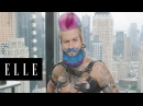 Spikey van Dykeys Amazing Drag King Transformation About Face ELLE