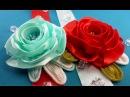 Ribbon rose:templates size/Rosa de la cinta:tamaño de plantillas/Розы из лент:варианты шаблонов