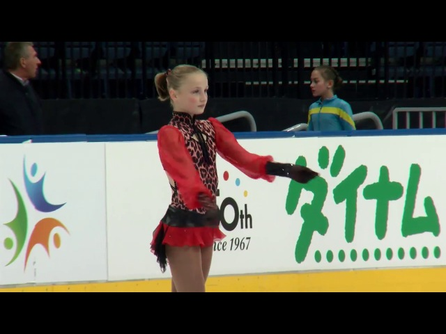 Lizaveta MALINOUSKAYA BLR - Ladies Short Program MINSK 2017