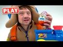 КУКУТИКИ PLAY - Распаковка - Большой Киндер Сюрприз Открываем и Играем в Машинки с Пилотом Винтиком