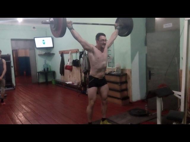 Squat snatch 102,5*2