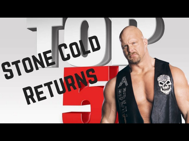 WWE Top 5: Best Returns of Stone Cold Steve Austin