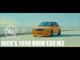 Nicks 1990 BMW E30 M3 | StanceWorks | Funky (4k)