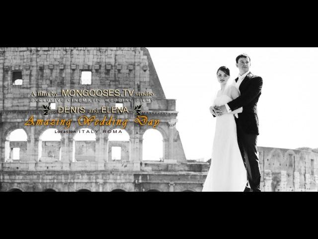 Wedding in Rome - best luxury video   Свадьба в Риме - свадебное видео