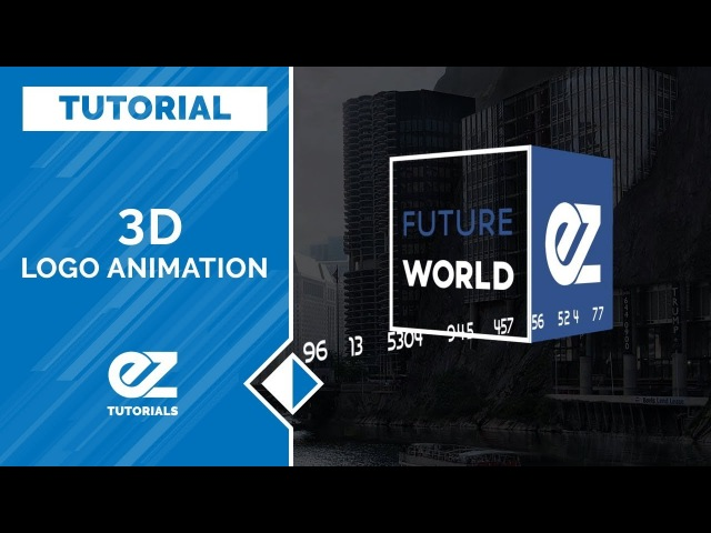 Easy 3D Logo Animation In After Effects Tutorial No Plugins