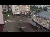 Злива у Франквську. Затоплен вулиц