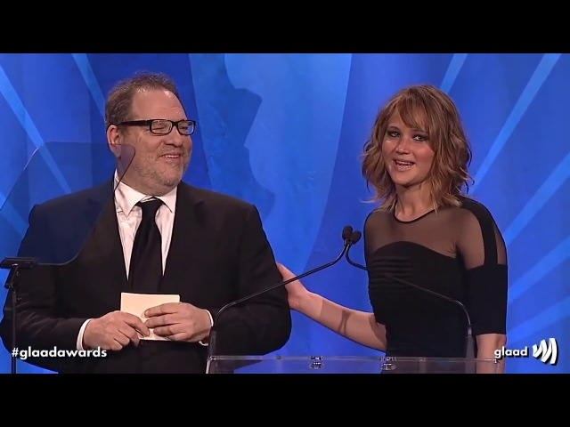 Hollywood loves Harvey Weinstein montage of Jennifer Lawrence Meryl Streep Matt Damon etc