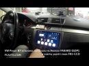 VW Passat B7 установка магнитолы на Android FAKARD 010P1 и камеры заднего вида F01 CCD