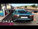 Lamborghini Aventador Lp750 4 SV Forza Horizon 3 Gameplay TOP SPEED of Racing Cars