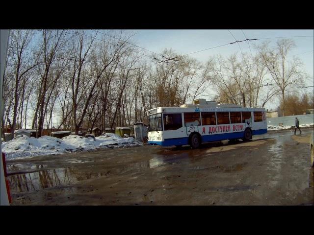 Троллейбус Тролза «Оптима» (Омск) Обзор.