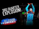 Carmelo Anthony Full Highlights 2018 01 20 at Cavs 29 Pts 3rd Quarter EXPLOSiON