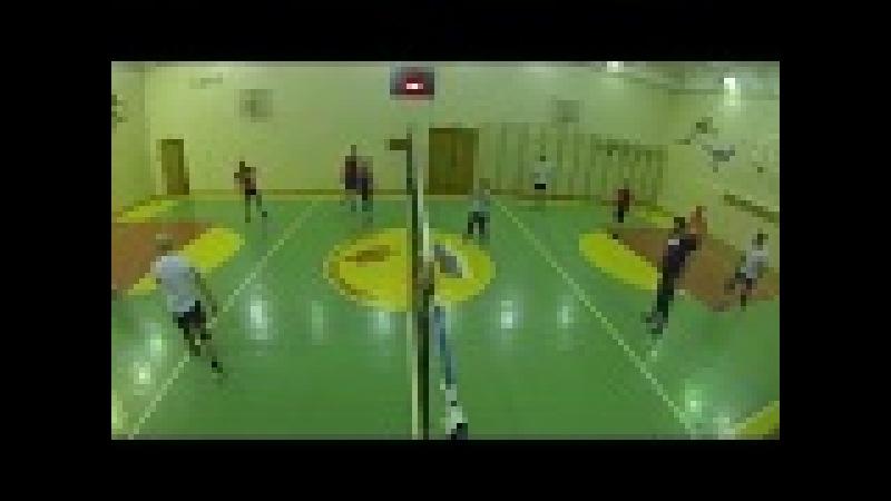 Волейбол на Учительской. 10.03.17 ч02